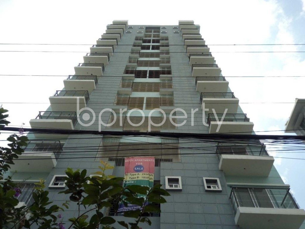 Front view - 4 Bed Apartment for Sale in Bashundhara R-A, Dhaka - 1913598