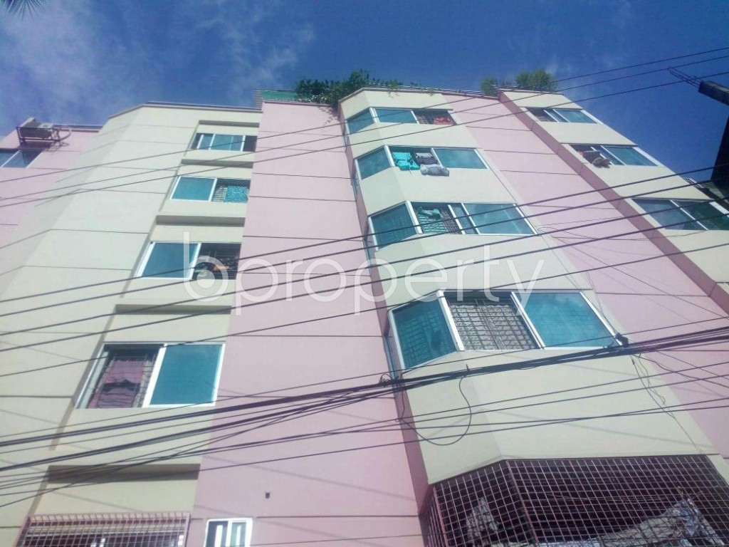 Front view - 3 Bed Apartment for Sale in Badda, Dhaka - 1912354
