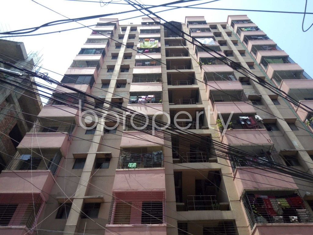 Outside view - 2 Bed Apartment for Sale in Maghbazar, Dhaka - 1913810
