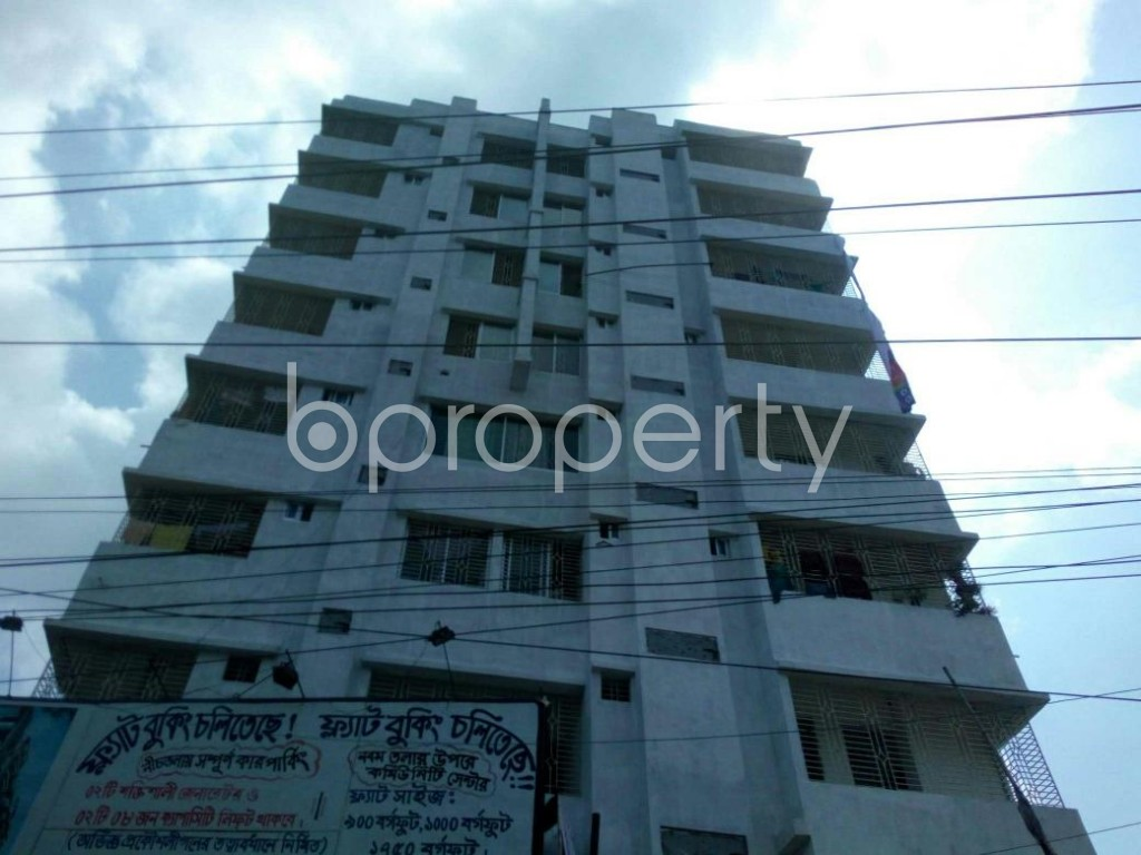 Front view - 2 Bed Apartment for Sale in Gazipur Sadar Upazila, Gazipur - 1913889