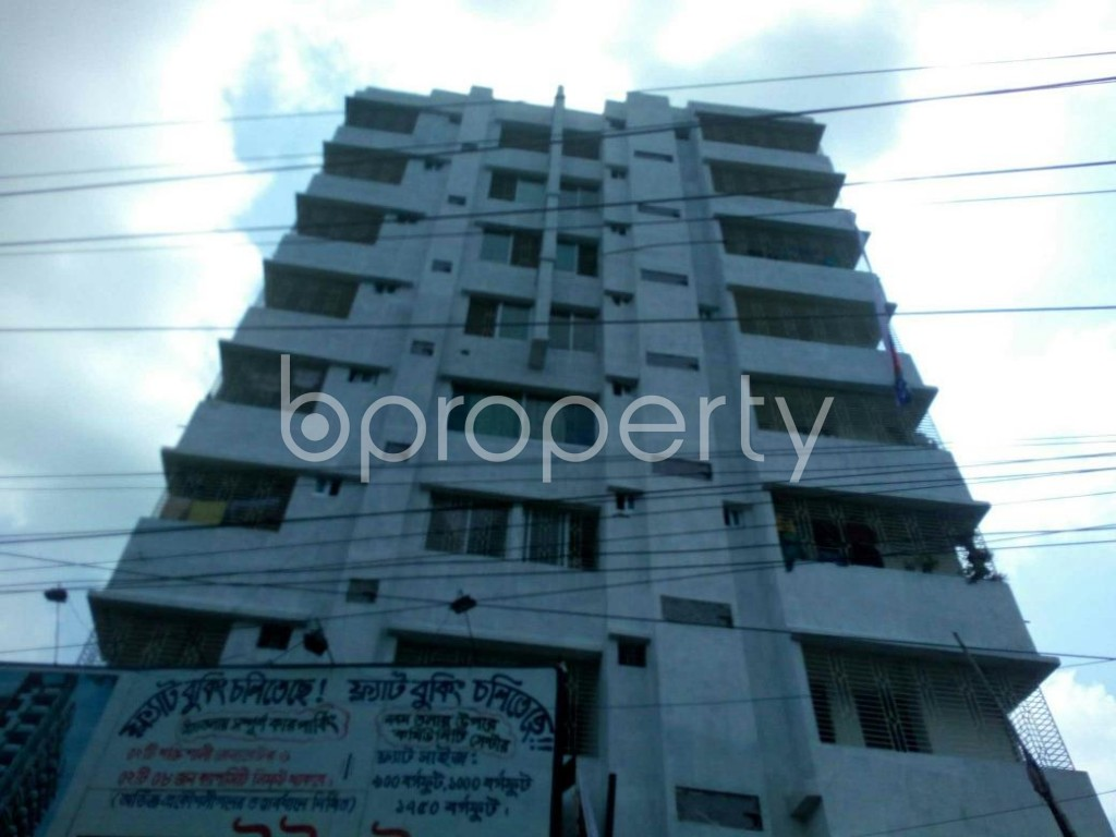 Front view - 3 Bed Apartment for Sale in Gazipur Sadar Upazila, Gazipur - 1913890