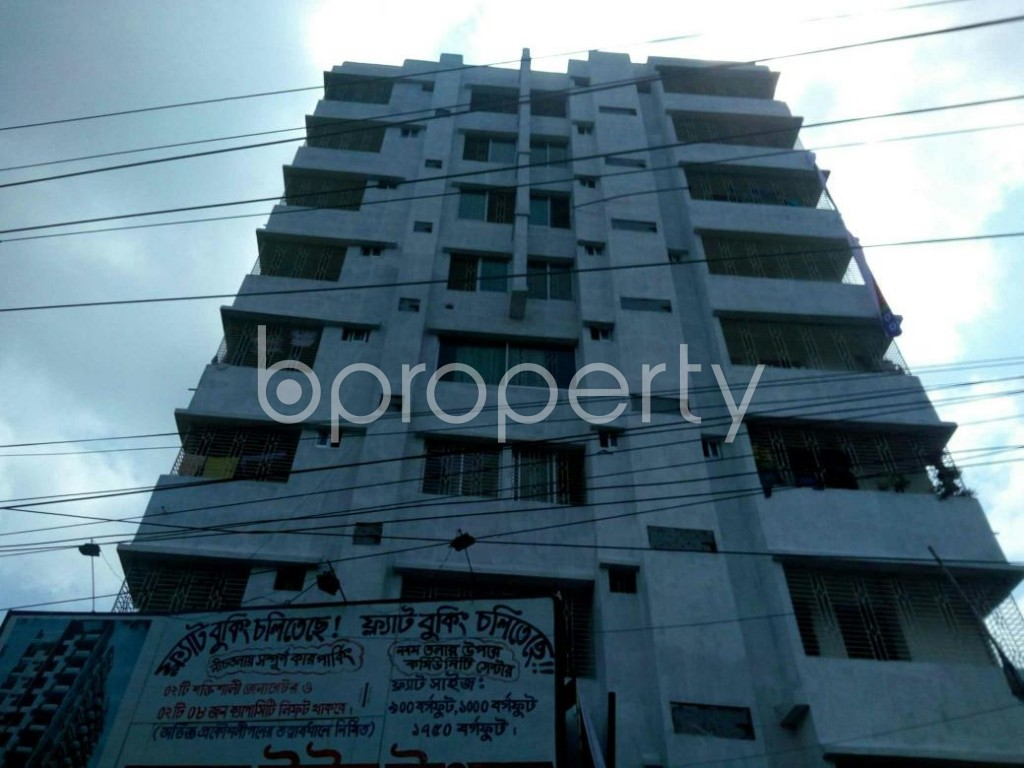 Front view - 3 Bed Apartment for Sale in Gazipur Sadar Upazila, Gazipur - 1913891