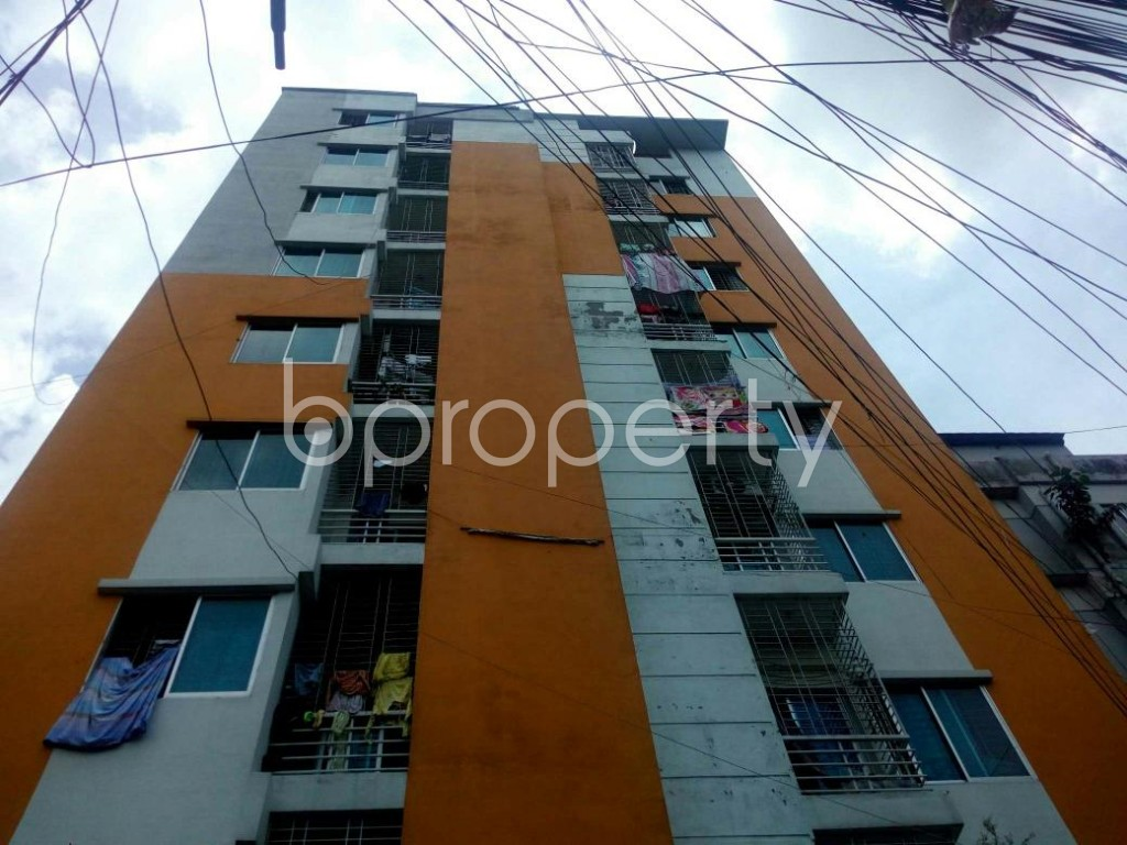 Front view - 3 Bed Apartment for Sale in Badda, Dhaka - 1914001