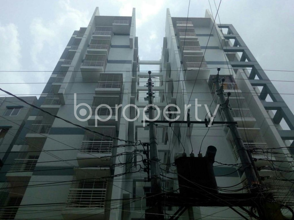 Front view - 3 Bed Apartment for Sale in Dakshin Khan, Dhaka - 1914003