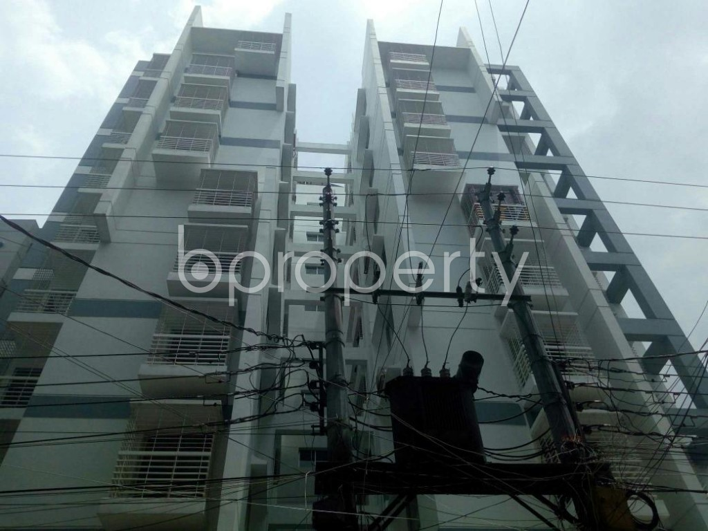 Front view - 3 Bed Apartment for Sale in Dakshin Khan, Dhaka - 1914005