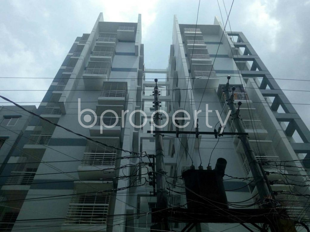 Front view - 3 Bed Apartment for Sale in Dakshin Khan, Dhaka - 1914006