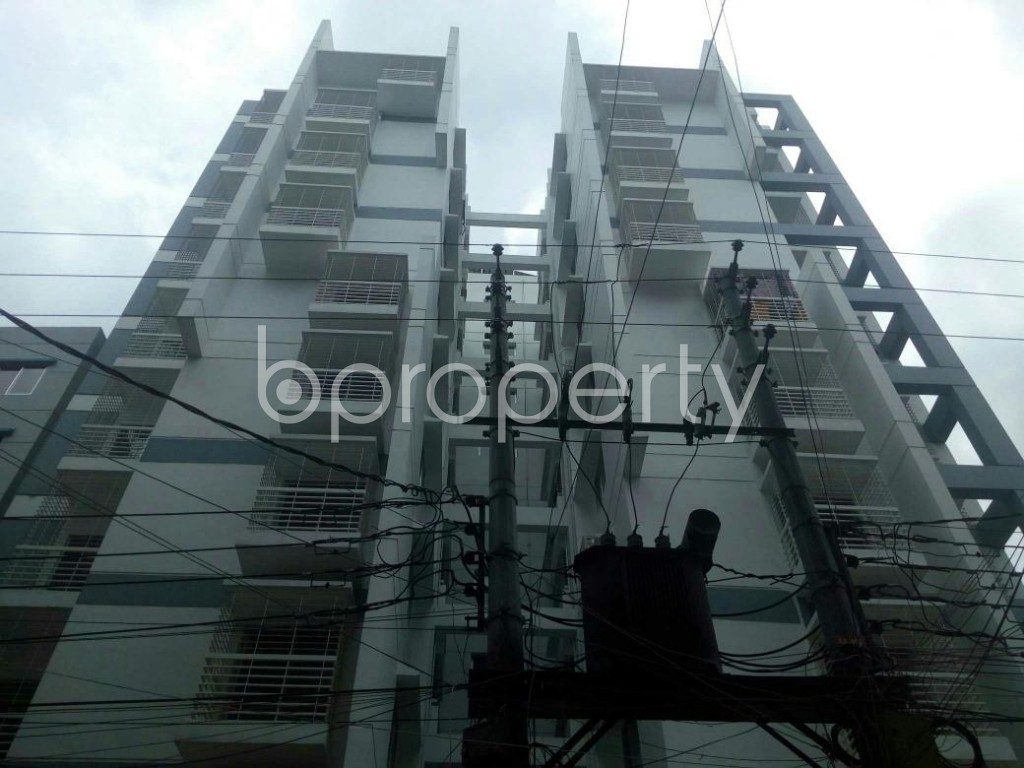 Front view - 3 Bed Apartment for Sale in Dakshin Khan, Dhaka - 1914008