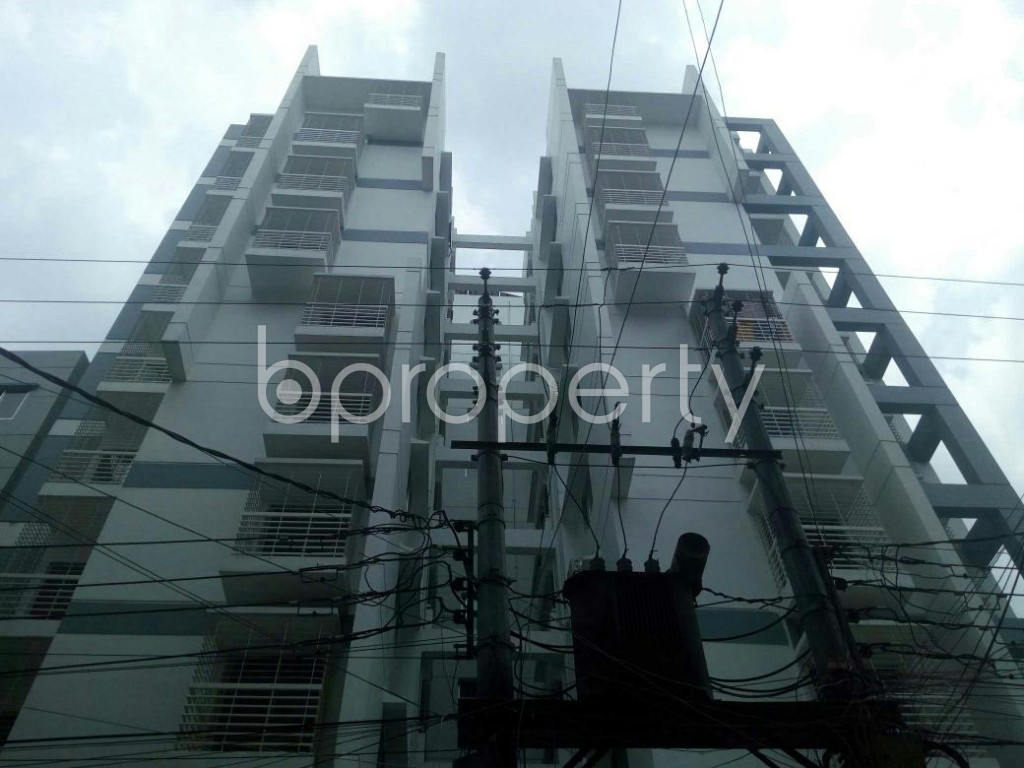 Front view - 3 Bed Apartment for Sale in Dakshin Khan, Dhaka - 1914009
