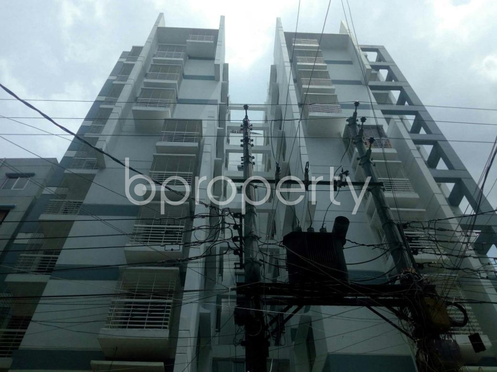 Front view - 3 Bed Apartment for Sale in Dakshin Khan, Dhaka - 1914010