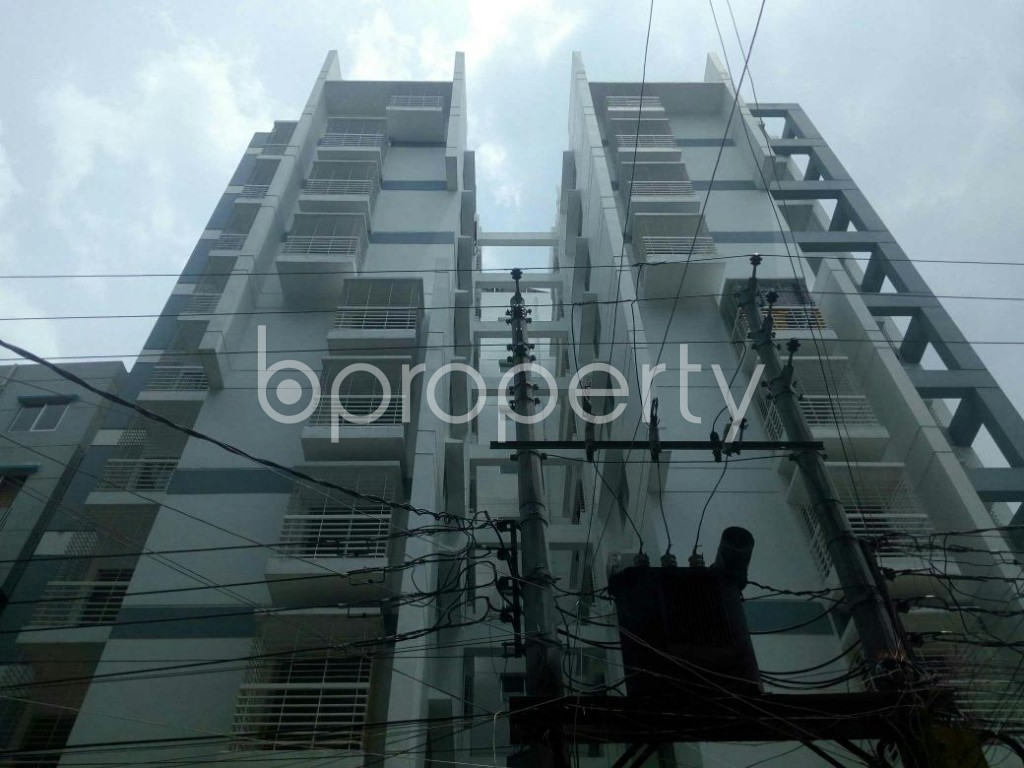 Front view - 3 Bed Apartment for Sale in Dakshin Khan, Dhaka - 1914011
