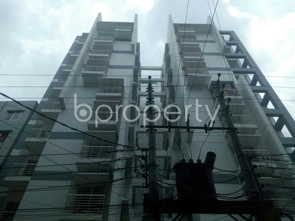 Front view - 3 Bed Apartment for Sale in Dakshin Khan, Dhaka - 1914012