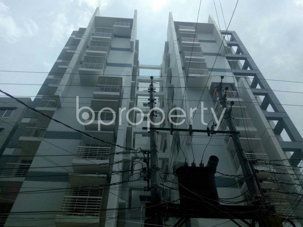 Front view - 3 Bed Apartment for Sale in Dakshin Khan, Dhaka - 1914013
