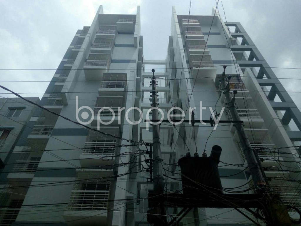 Front view - 3 Bed Apartment for Sale in Dakshin Khan, Dhaka - 1914014
