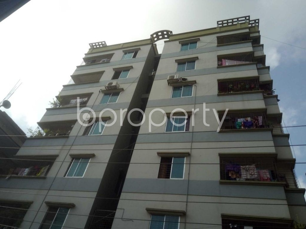 Front view - 3 Bed Apartment for Sale in Badda, Dhaka - 1914036