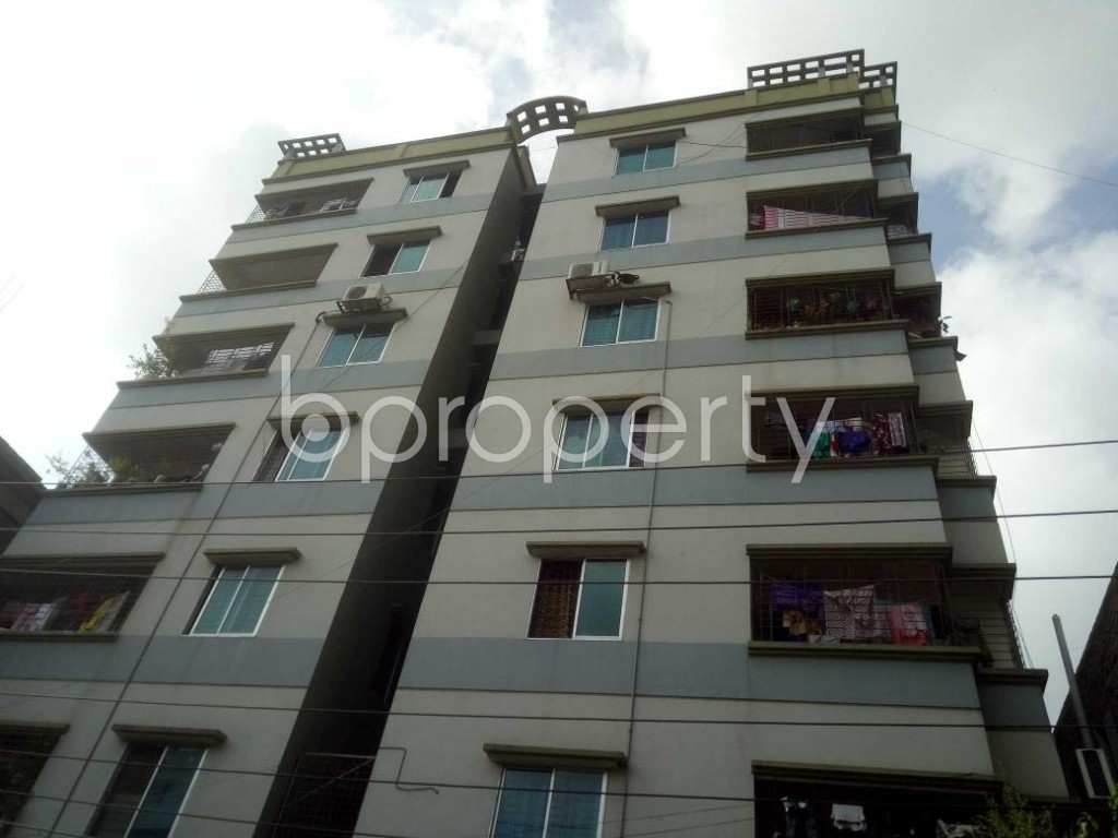 Front view - 3 Bed Apartment for Sale in Badda, Dhaka - 1914037
