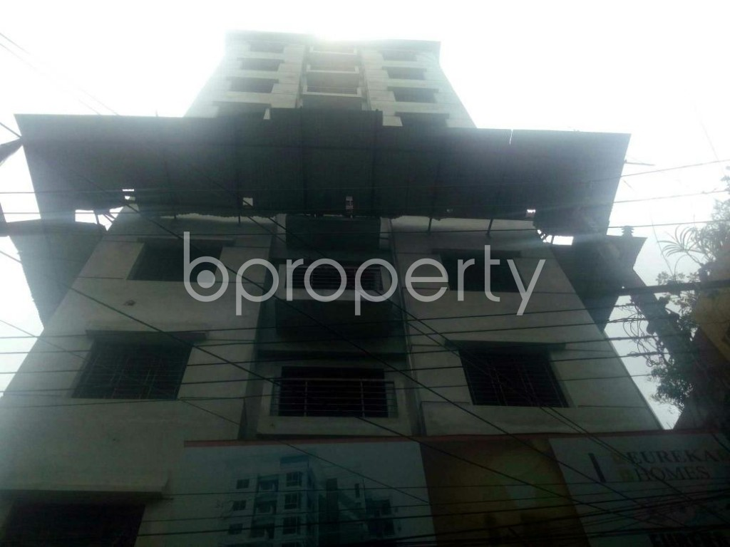 Front view - 3 Bed Apartment for Sale in Rampura, Dhaka - 1914152