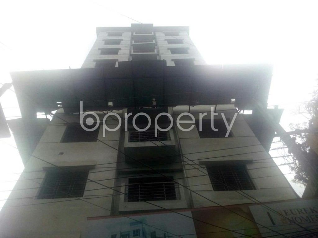 Front view - 3 Bed Apartment for Sale in Rampura, Dhaka - 1914153