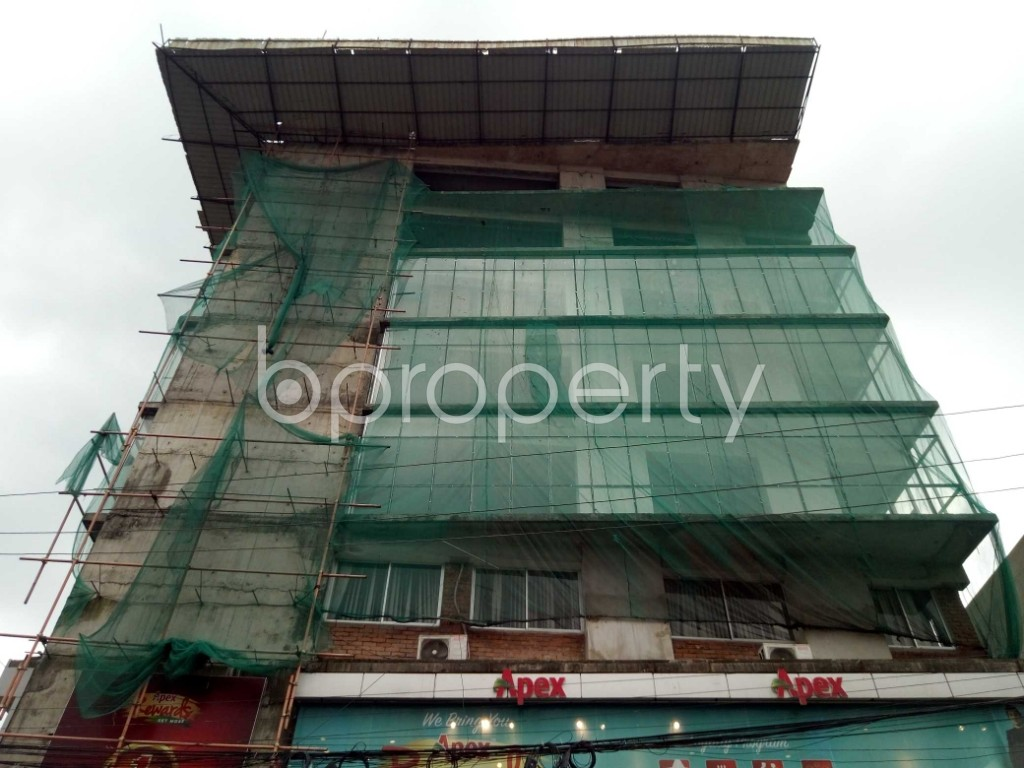 Front view - Floor for Sale in Uttara, Dhaka - 1914202