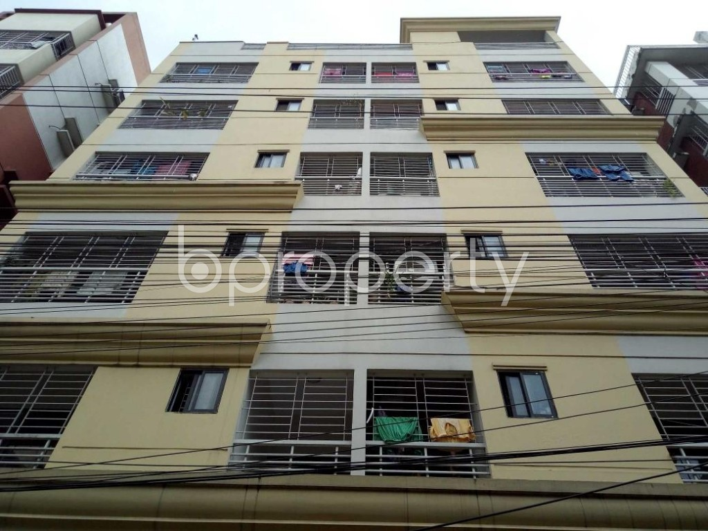 Front view - 3 Bed Apartment for Sale in Uttara, Dhaka - 1914233