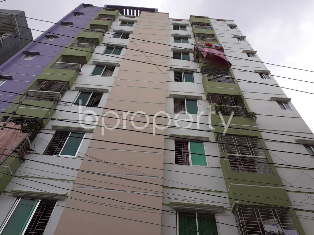 Front view - 3 Bed Apartment for Sale in Khilgaon, Dhaka - 1914163