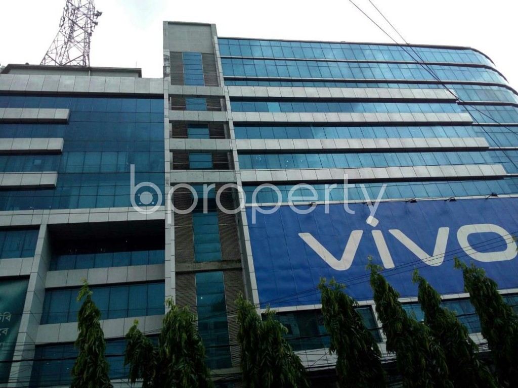 Front view - Office to Rent in Double Mooring, Chattogram - 1914365