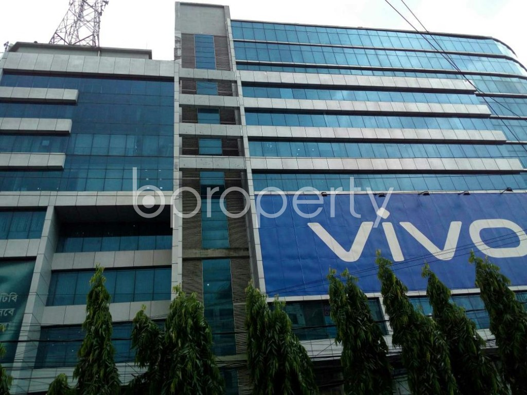 Front view - Office to Rent in Double Mooring, Chattogram - 1914367