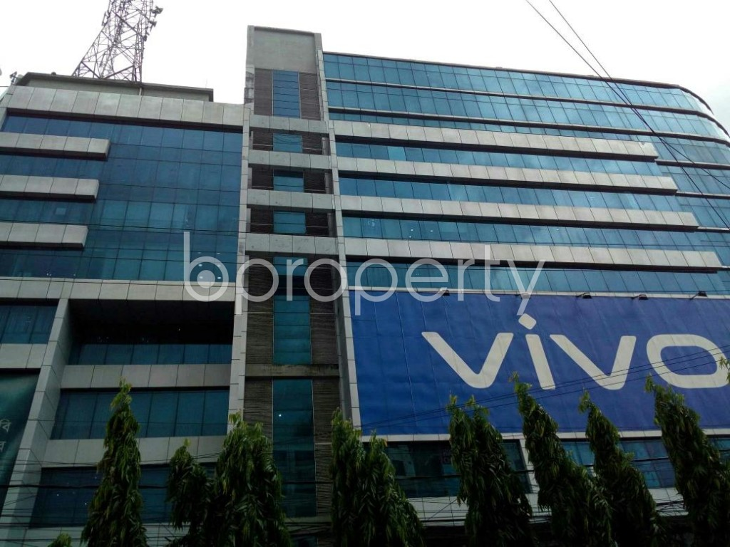 Front view - Office to Rent in Double Mooring, Chattogram - 1914369