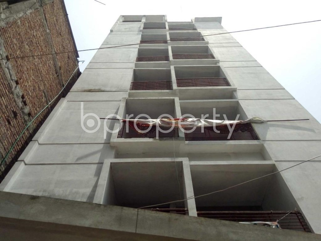 Front view - 4 Bed Apartment for Sale in Badda, Dhaka - 1914523