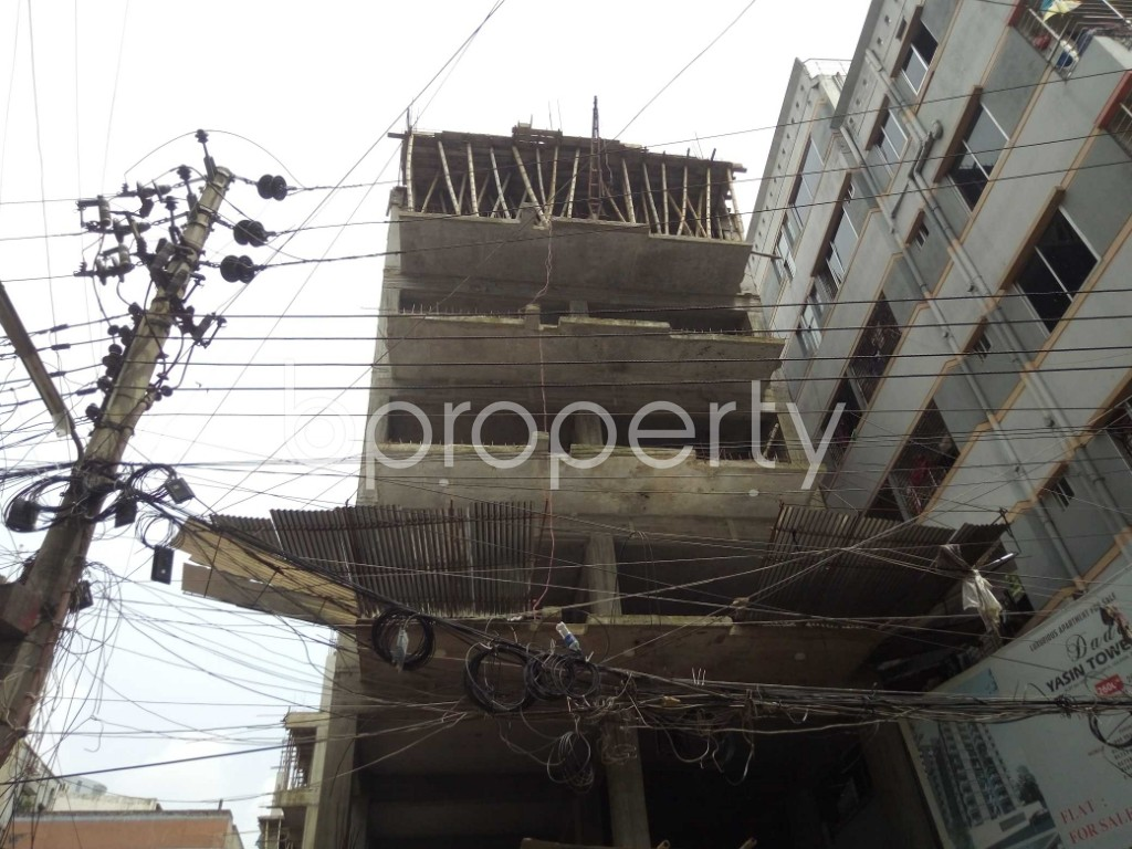 Outside view - 3 Bed Apartment for Sale in Badda, Dhaka - 1914529