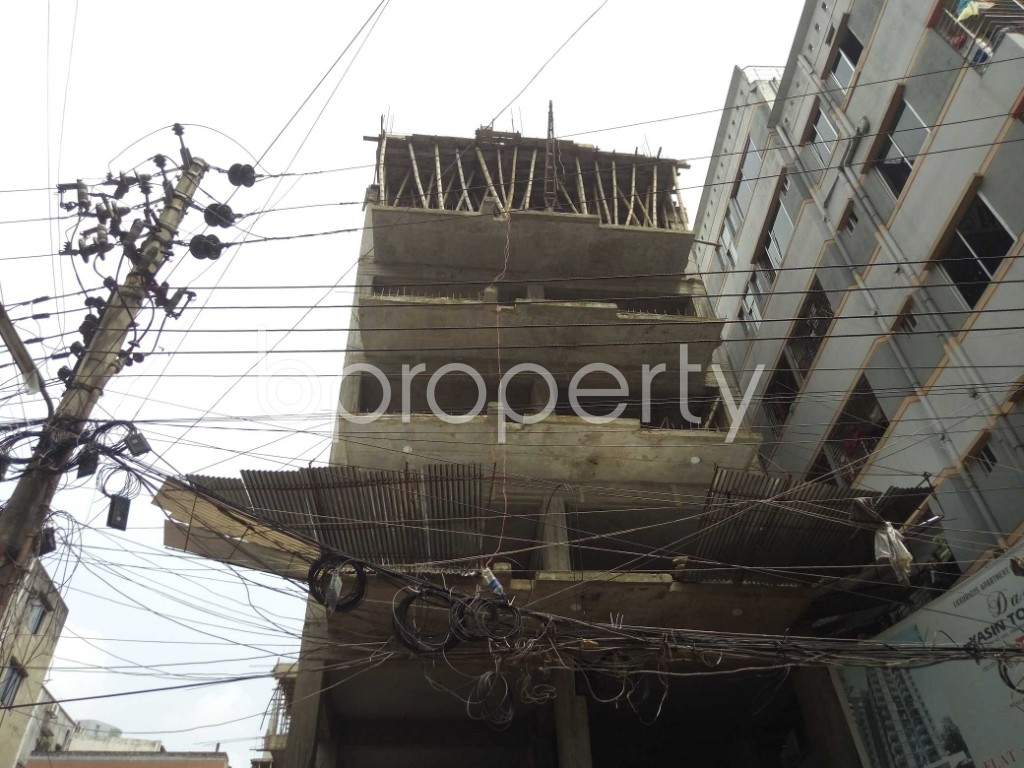 Outside view - 3 Bed Apartment for Sale in Badda, Dhaka - 1914530