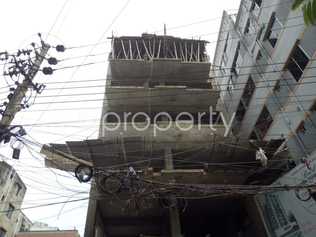 Outside view - 3 Bed Apartment for Sale in Badda, Dhaka - 1914531