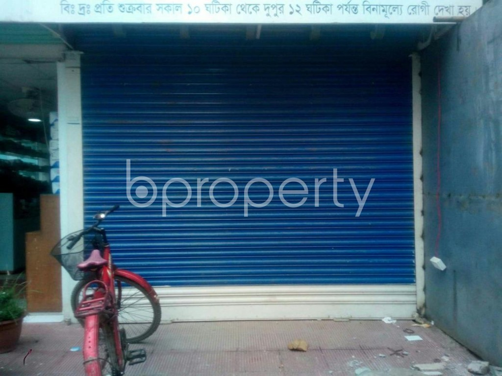 Front view - Shop to Rent in Uttara, Dhaka - 1914554
