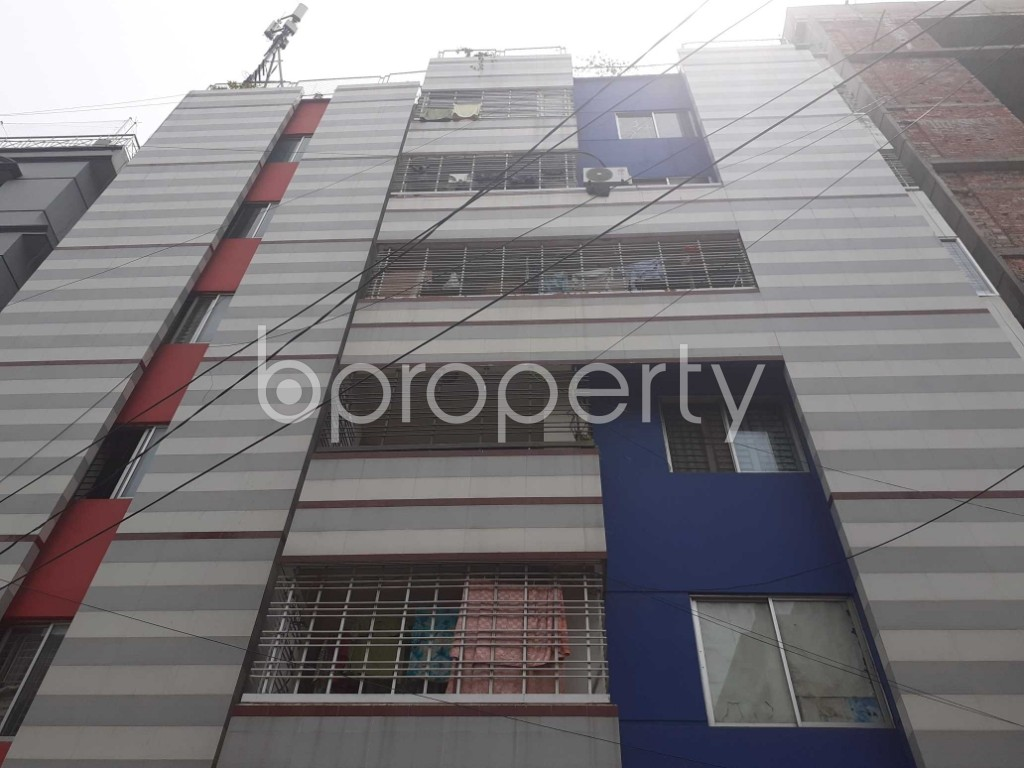 Front view - 3 Bed Apartment to Rent in Uttara, Dhaka - 1914566