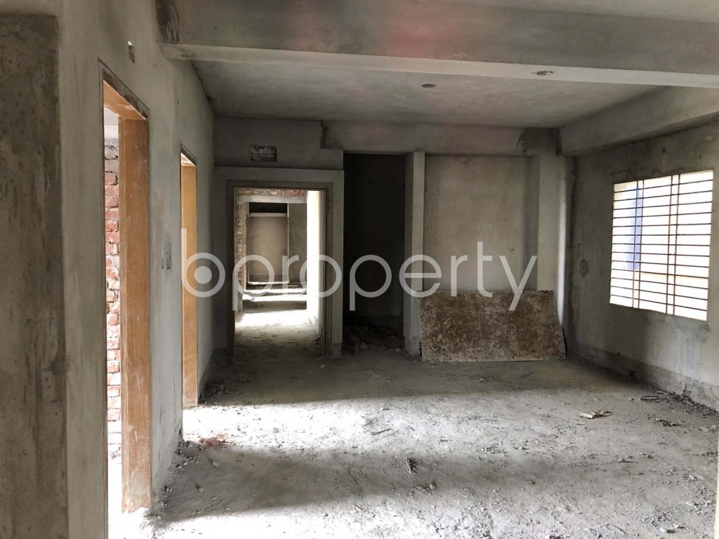 Dining area - 3 Bed Apartment for Sale in Mohammadpur, Dhaka - 1911749