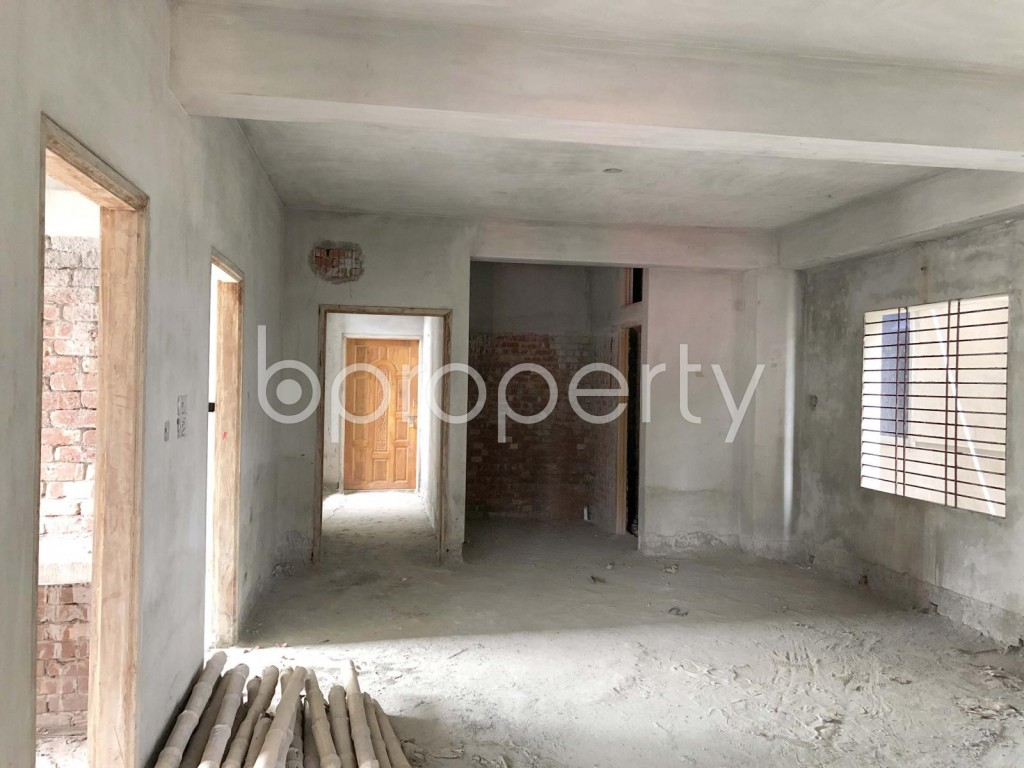 Dining area - 3 Bed Apartment for Sale in Mohammadpur, Dhaka - 1911665