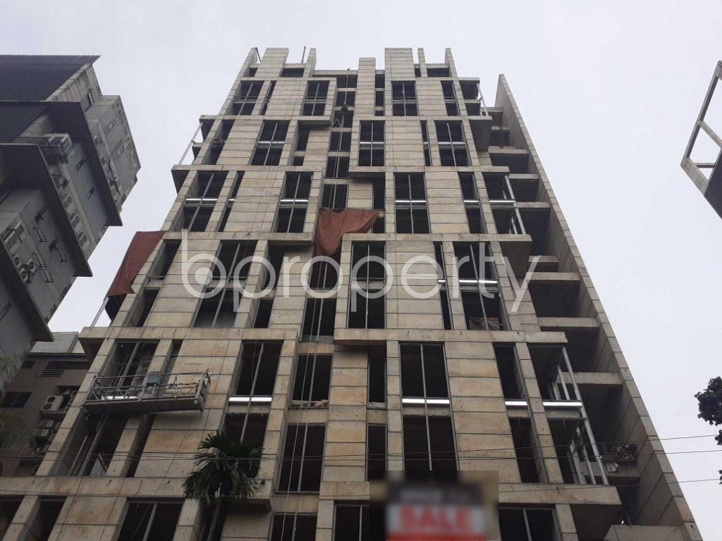 Front view - Apartment for Sale in Banani, Dhaka - 1914817