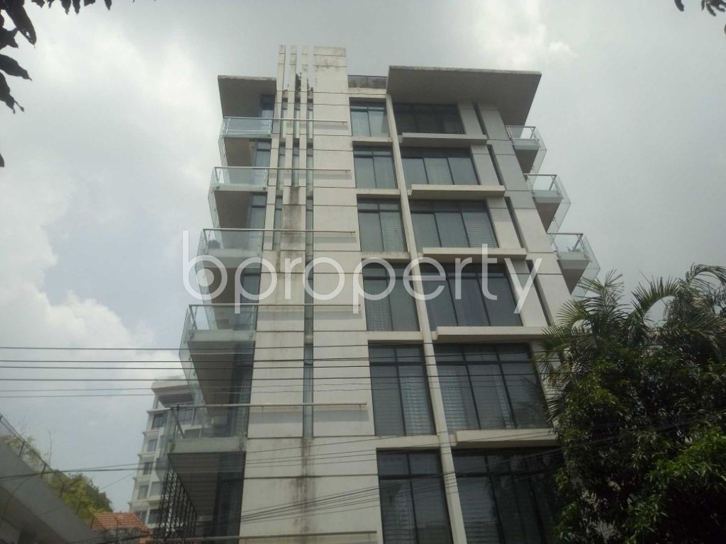Front view - 3 Bed Apartment for Sale in Baridhara, Dhaka - 1915044