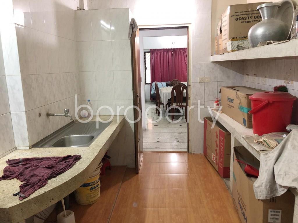 Kitchen - 12 Bed Building for Sale in Uttara, Dhaka - 1908939