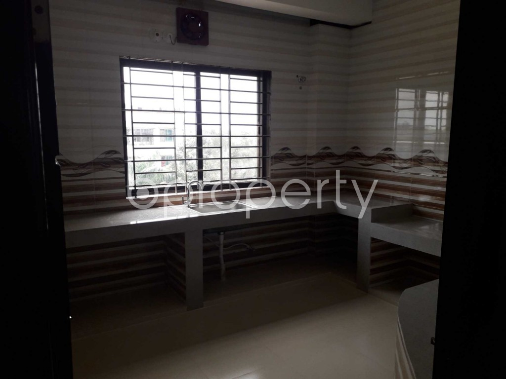 Kitchen - 3 Bed Apartment for Sale in Shahi Eidgah, Sylhet - 1915472