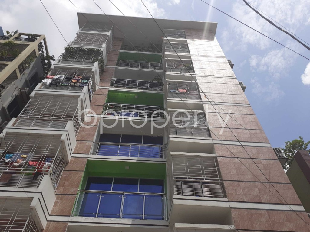 Front view - 3 Bed Apartment for Sale in Mirpur, Dhaka - 1915525