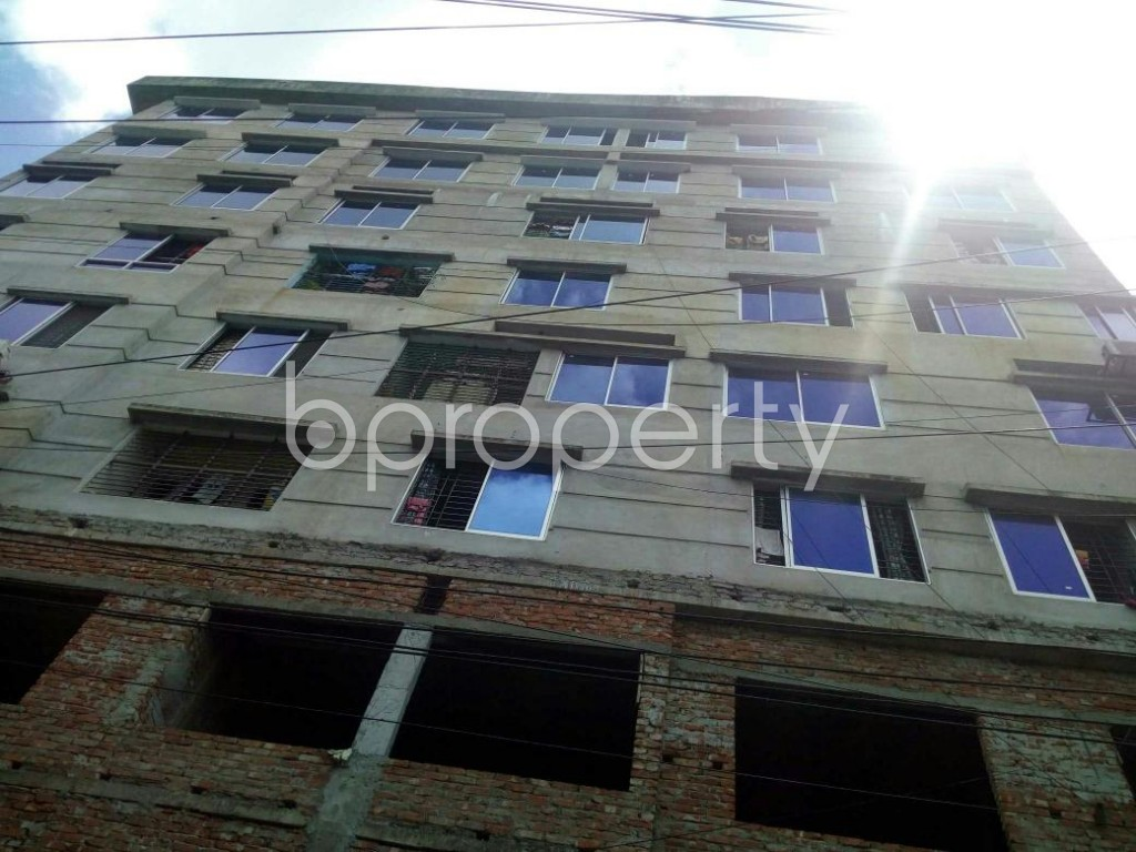 Front view - 3 Bed Apartment for Sale in Lal Khan Bazaar, Chattogram - 1915675