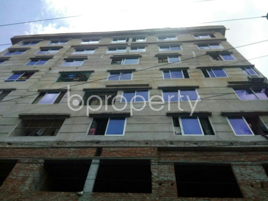 Front view - 3 Bed Apartment for Sale in Lal Khan Bazaar, Chattogram - 1915677