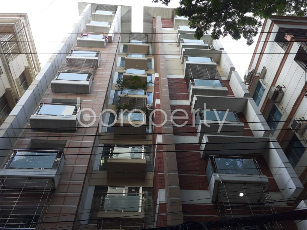Front view - 3 Bed Apartment for Sale in Banani, Dhaka - 1916165