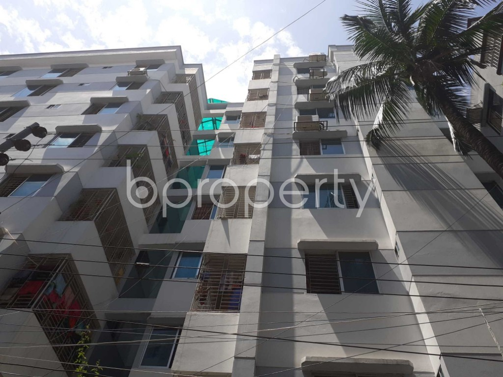 Front view - 2 Bed Apartment for Sale in Ibrahimpur, Dhaka - 1916172