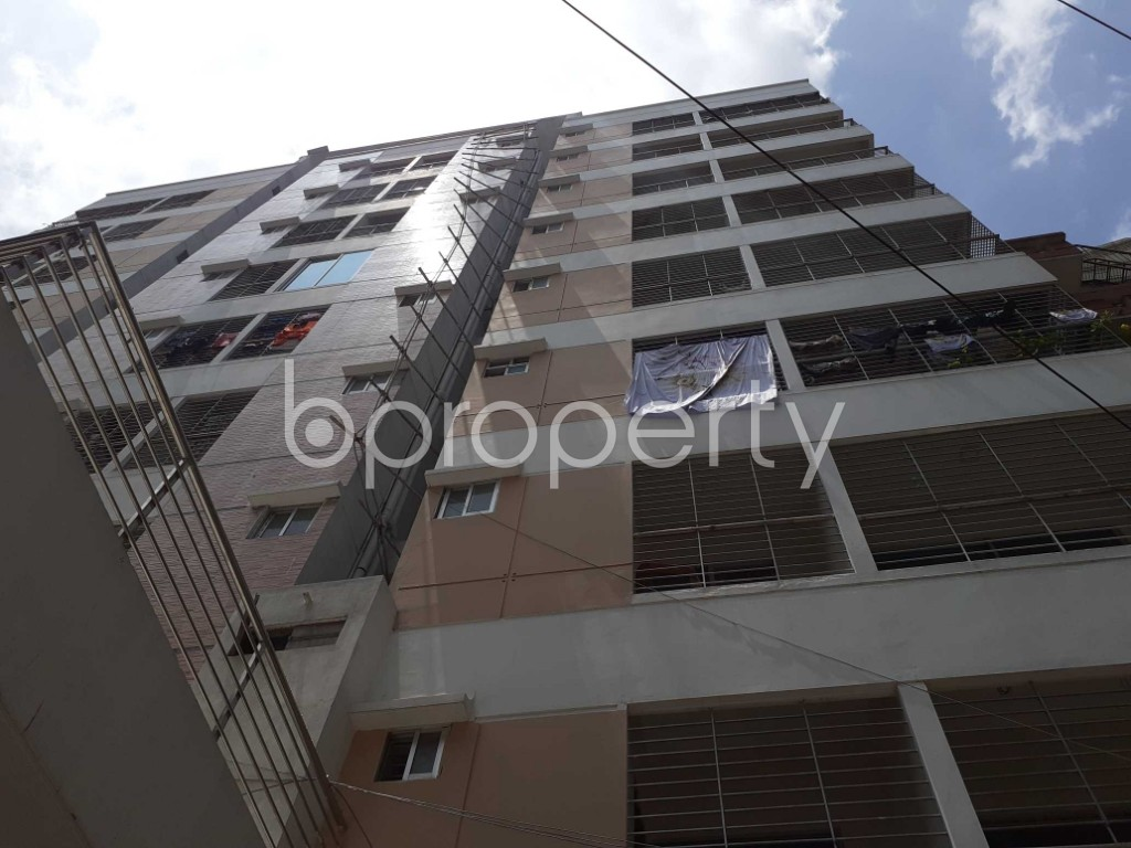 Front view - 3 Bed Apartment for Sale in Dhanmondi, Dhaka - 1916336