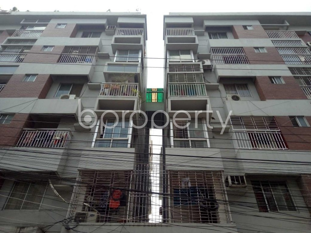 Front view - 3 Bed Apartment for Sale in Uttara, Dhaka - 1916398