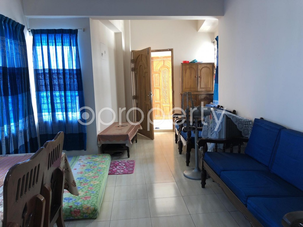 Dining area - 2 Bed Apartment for Sale in Turag, Dhaka - 1911467