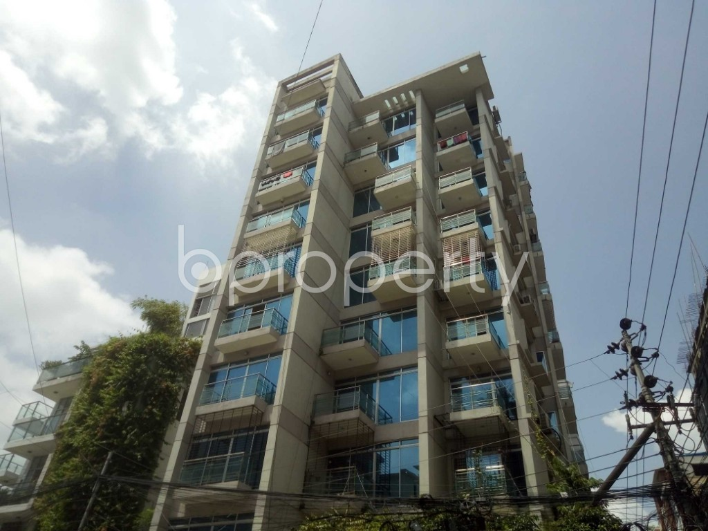 Outside view - 4 Bed Apartment to Rent in Baridhara, Dhaka - 1916457