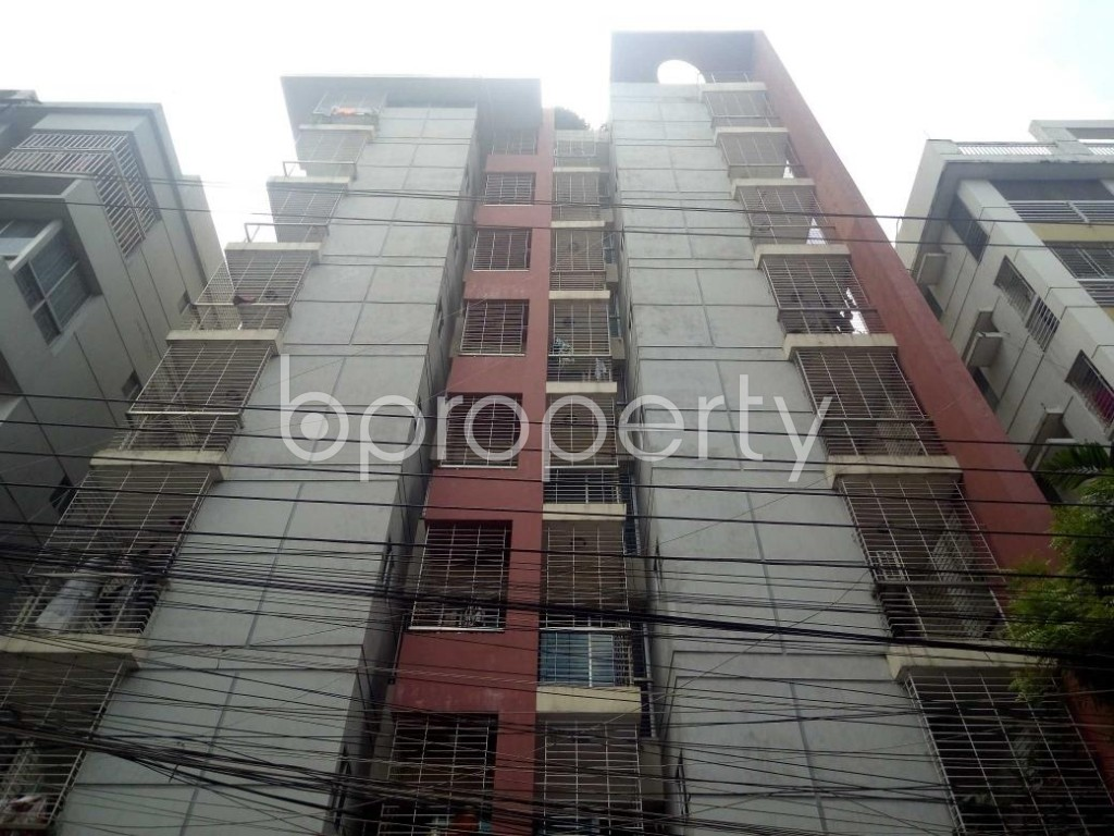 Front view - 3 Bed Apartment for Sale in Uttara, Dhaka - 1916494