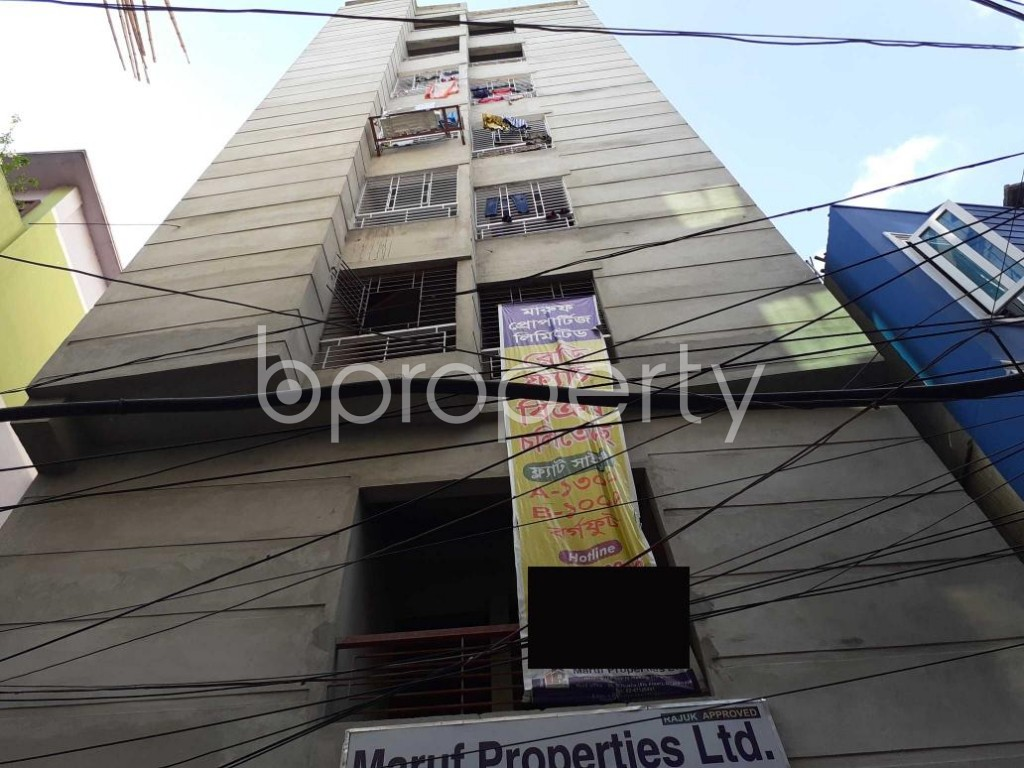 Outside view - 3 Bed Apartment for Sale in Jatra Bari, Dhaka - 1916547